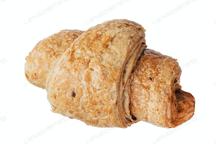 Isolated image of delicious bagels close-up.