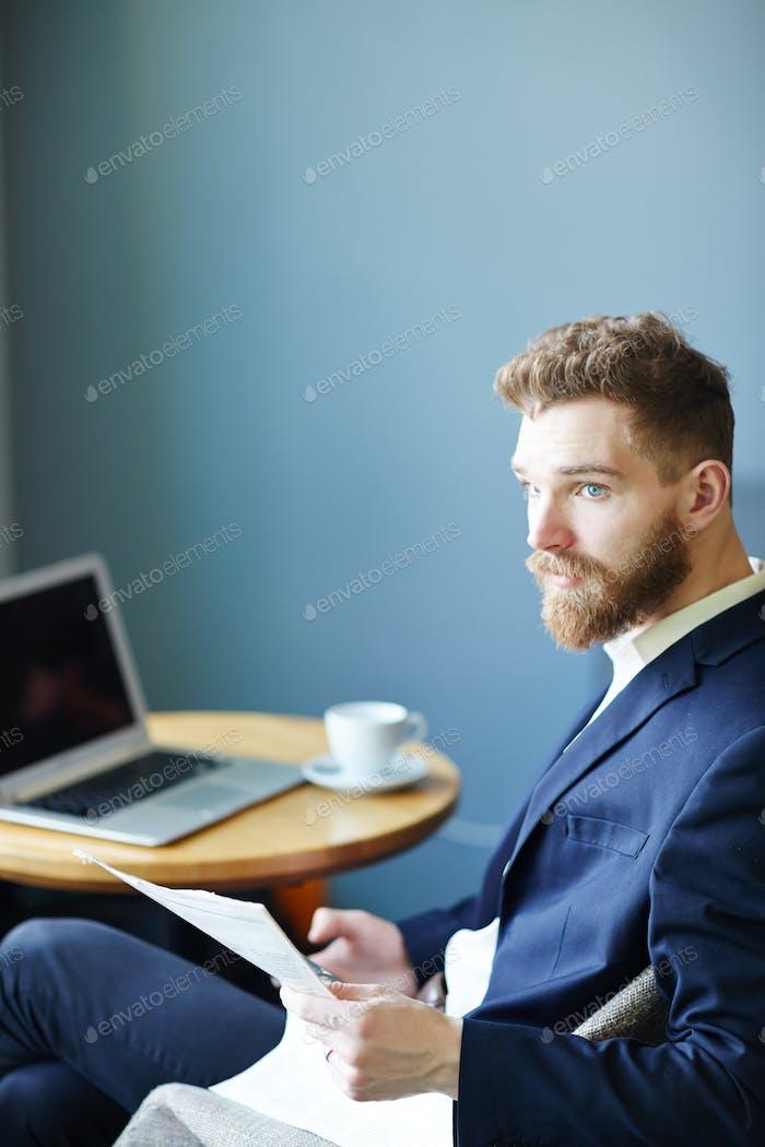 Bearded trader