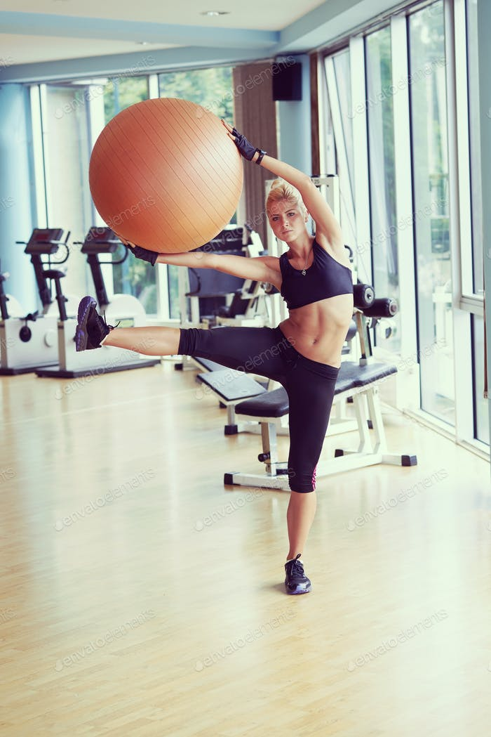 pilates woman