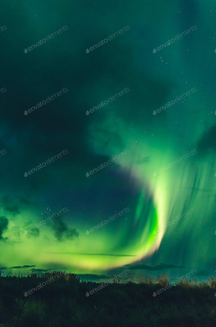 erstaunliche Nordlichter