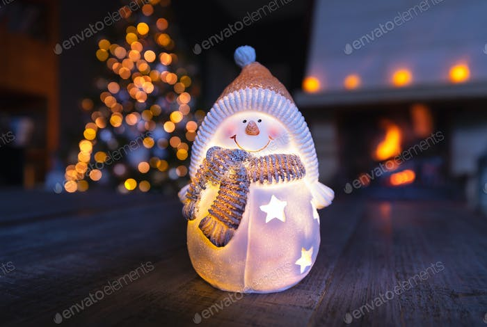 Stylish Christmas home decoration