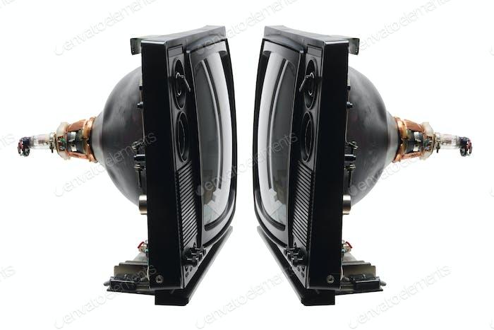 Retro Fernsehröhren