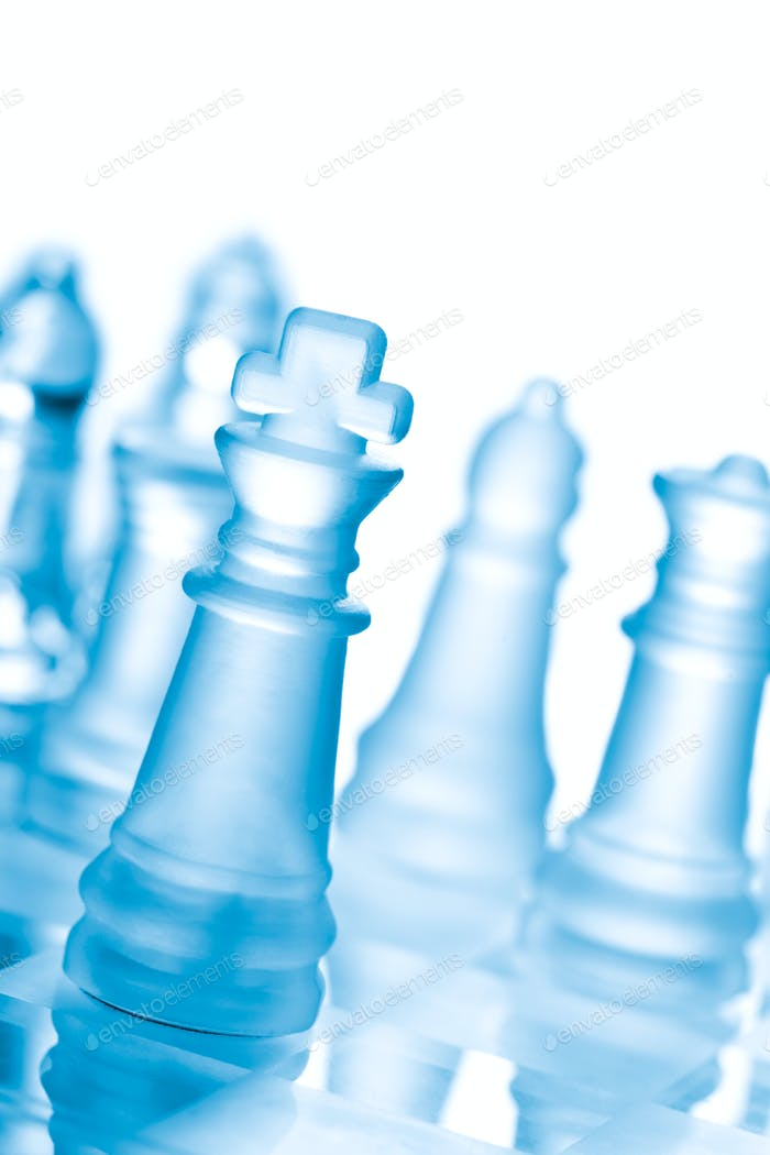 Thumbnail for Glass chess