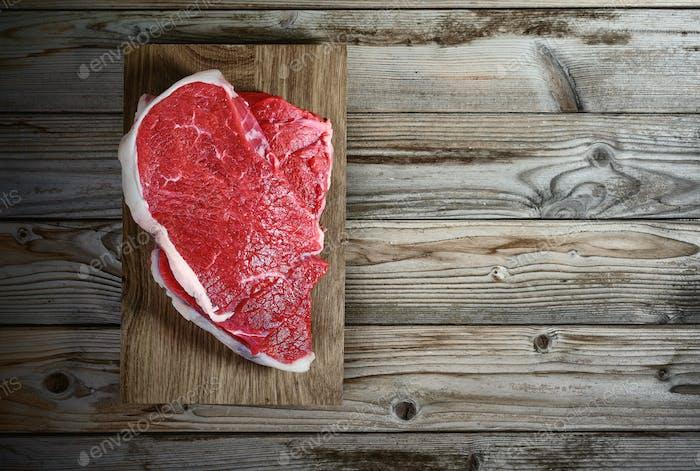 fresh meat fillet