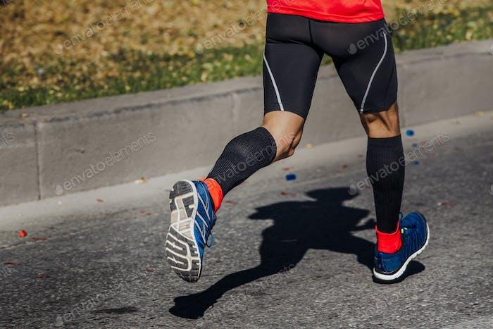 athlete runner feet