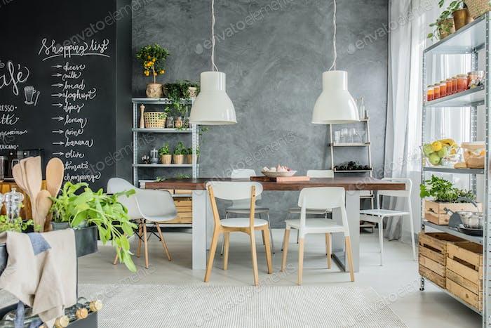 Nice and homey dining room