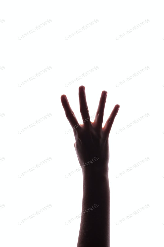woman hand