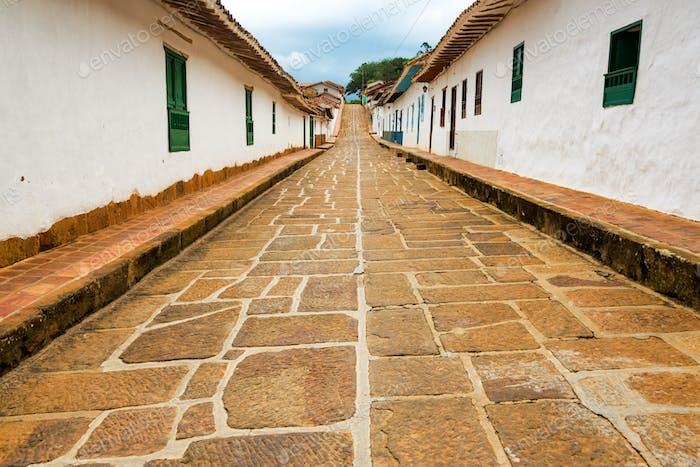 Beautiful Colonial Street View