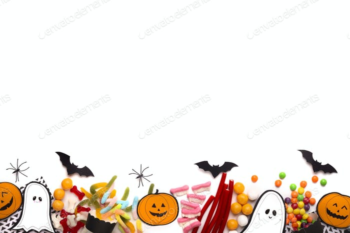Halloween Horror Party Bonbons und Papier Handwerk Figuren