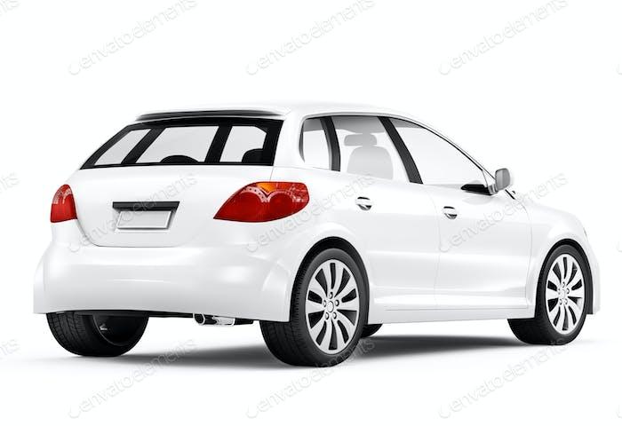 3D Generic designed car