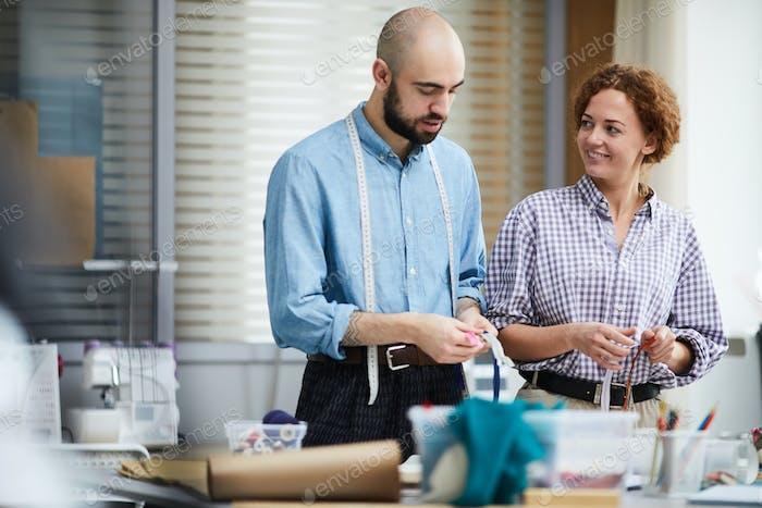 Designers in workshop