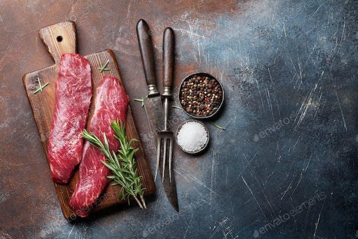 Raw Top Klinge oder Denver Steak
