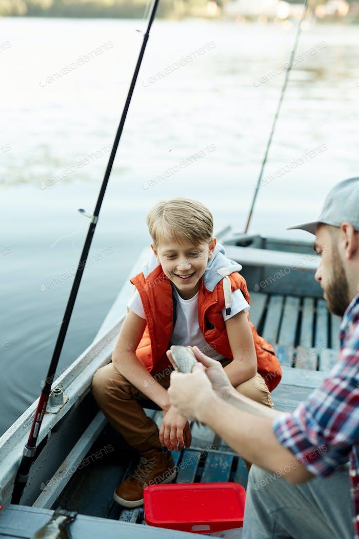 Fish of dad
