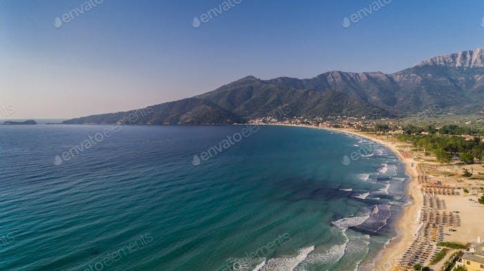 Psili Ammos Playa, Thassos, Isla