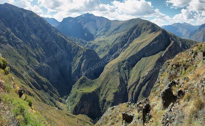 Huamanmarca in Nor Yauyos Cochas, Peru