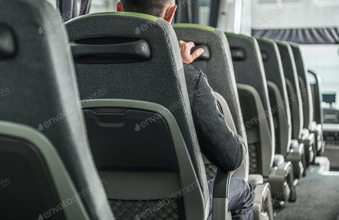 Public Transportation Coach Bus Passenger