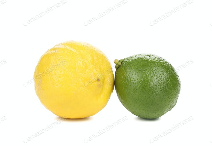 Fresh lime and lemon.