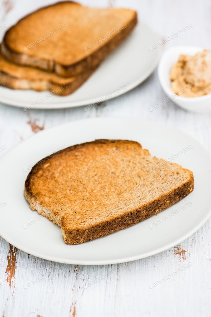 Toasts from Wholewheat Bread