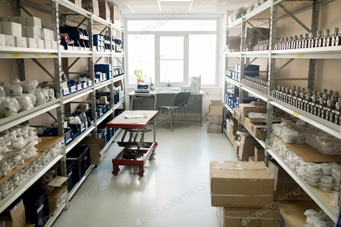 Warehouse of Modern Manometer Factory