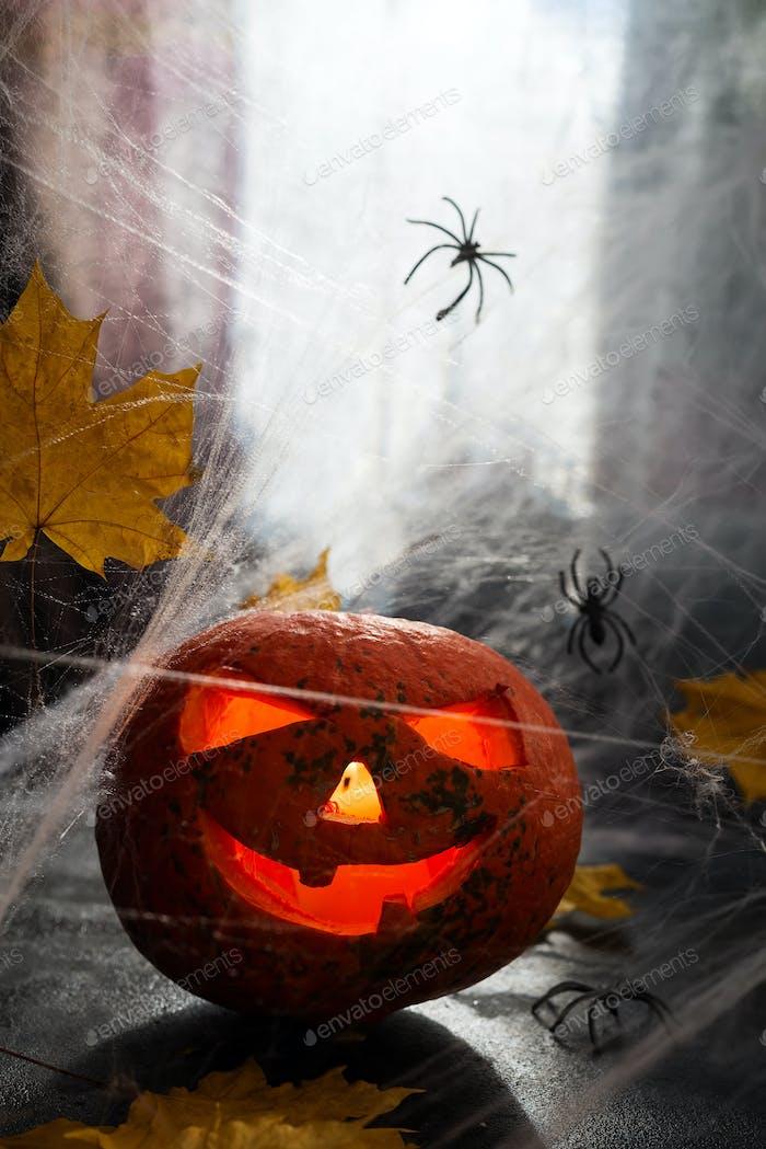 Halloween Kürbiskopf S