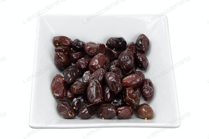 Olives on Bowl