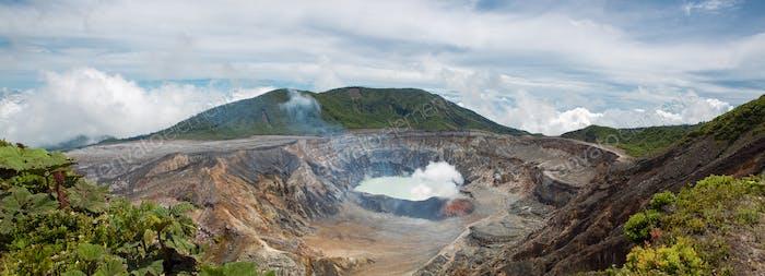 Vulkan Poas - 2008