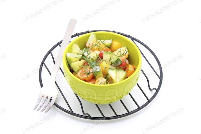 Tomato Cucumber Dill