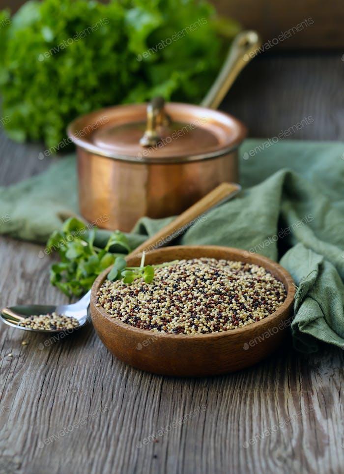 Quinoa Getreide für eine gesunde Ernährung
