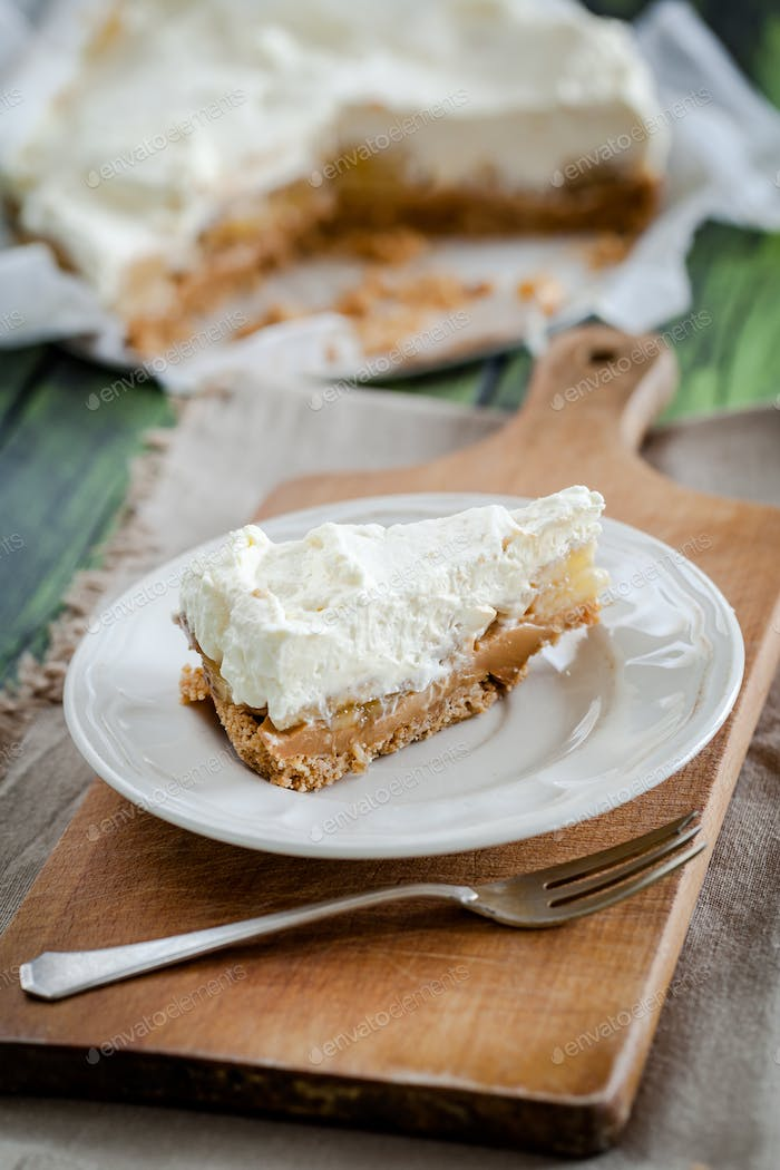 Homemade Banoffee Pie - better than from bakery