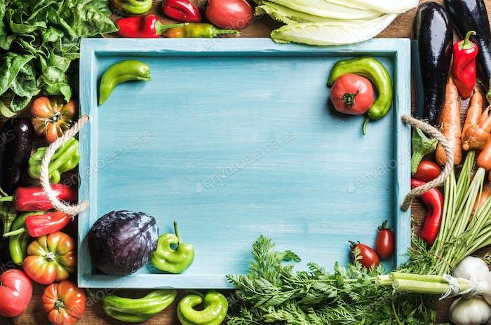 Frische Rohstoffe für gesundes Kochen