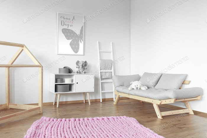 Pink big carpet