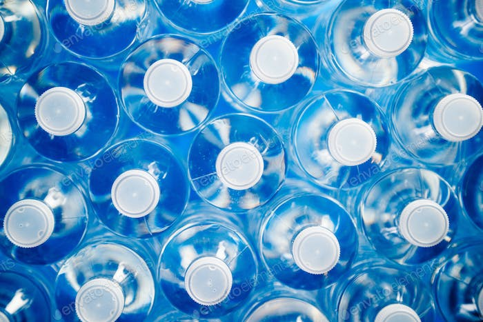 Plastic Bottles For Recycling And Energy Saving