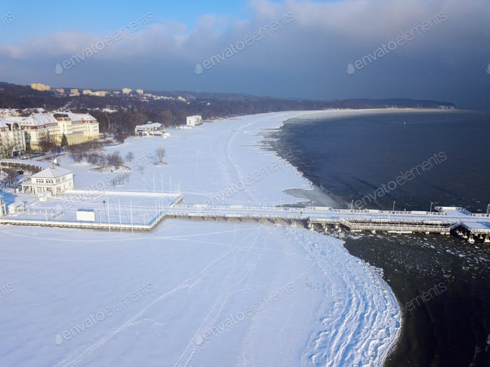 White Beach in Sopot