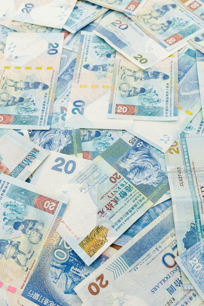 Twenty Hong Kong dollar