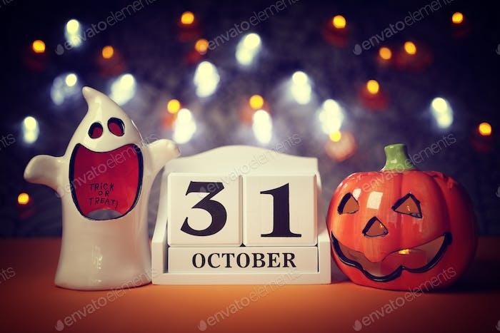 Halloween calendar date
