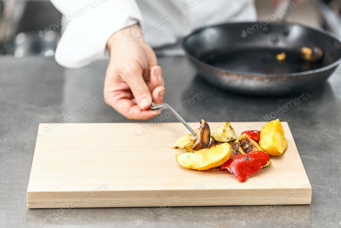 Delicious grilled vegetable
