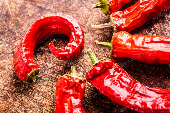 Dry red hot chili