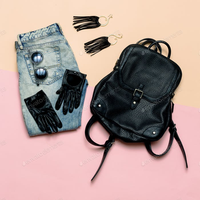 Fashionable outfit For every day. Stylish Urban Women's Accessor