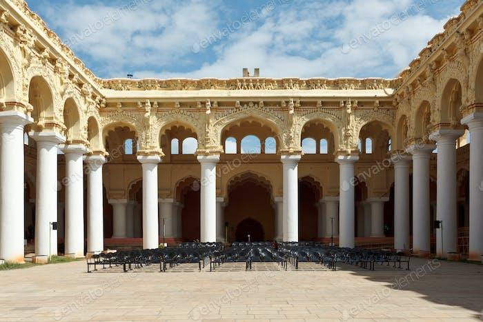 Tirumalai Nayal Palace. Madurai, Tamil Nadu, India