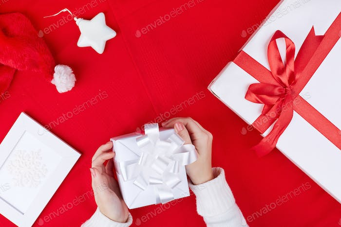 Traditional xmas objects