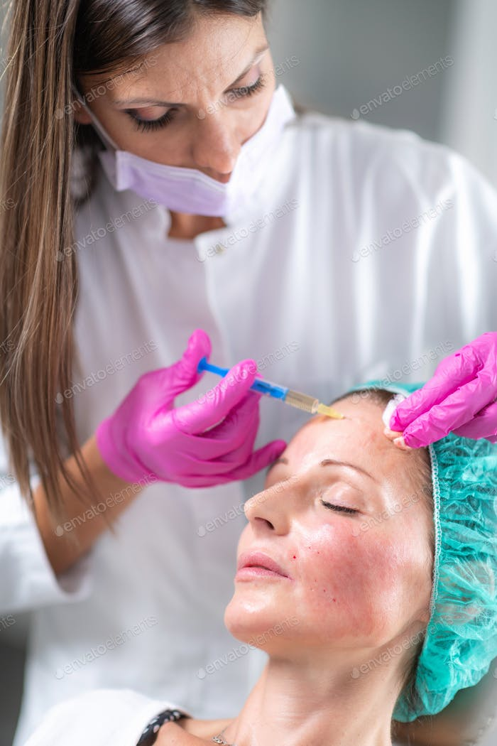Hyaluronic Acid Injection Fillers for Forehead