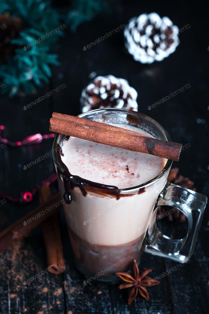 Karamell Kaffee Latte