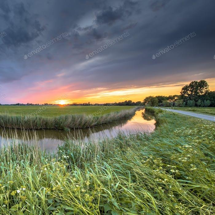 Netherlands Groningen Landscape square