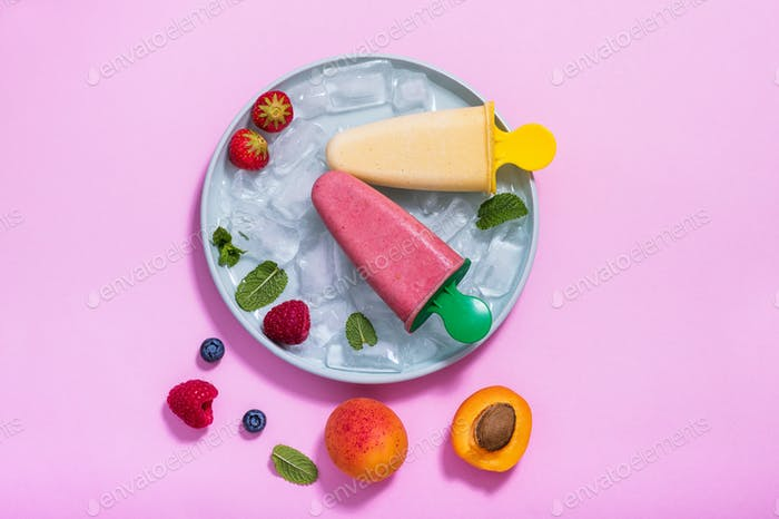 Frucht-Eis
