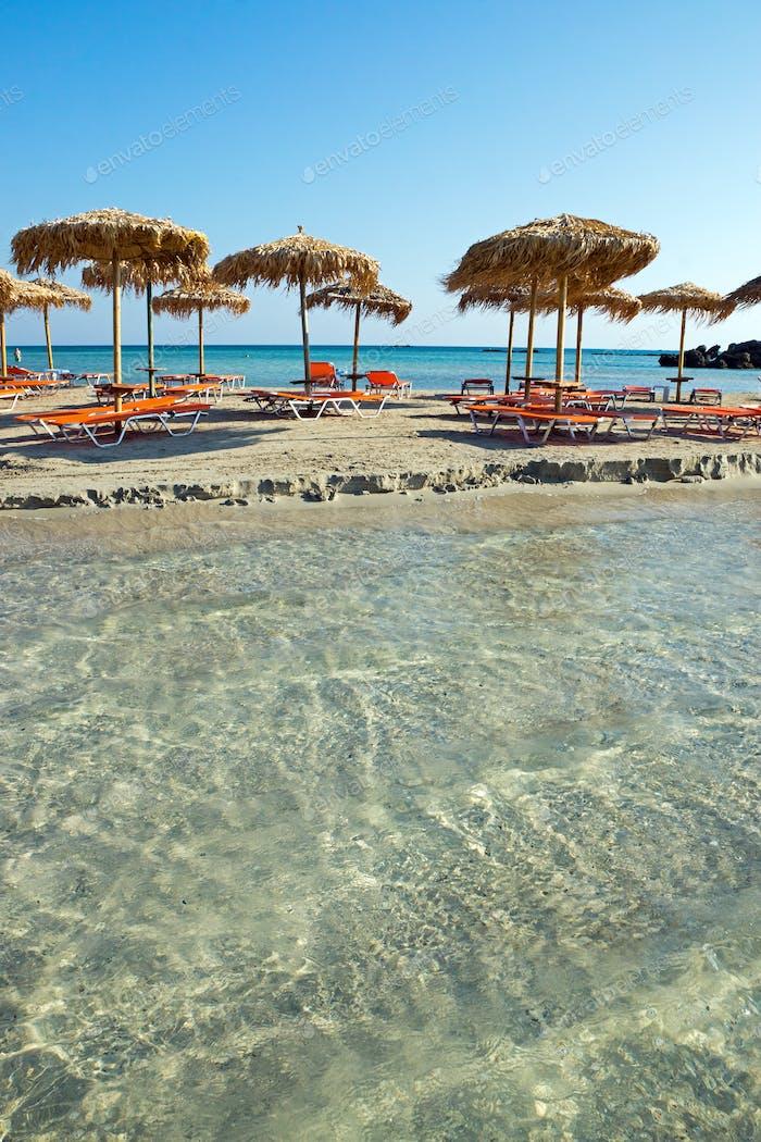 Elafonisi Beach, Griechenland