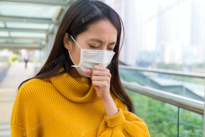 Young Woman feeling unwell
