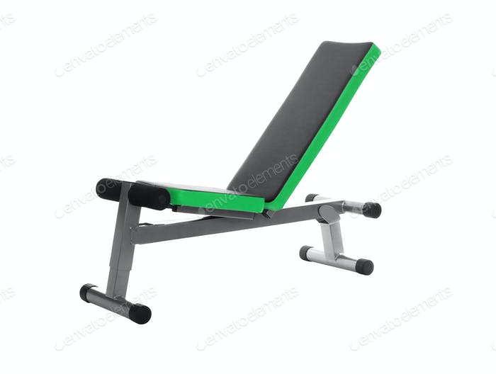 Gym Bench isolated