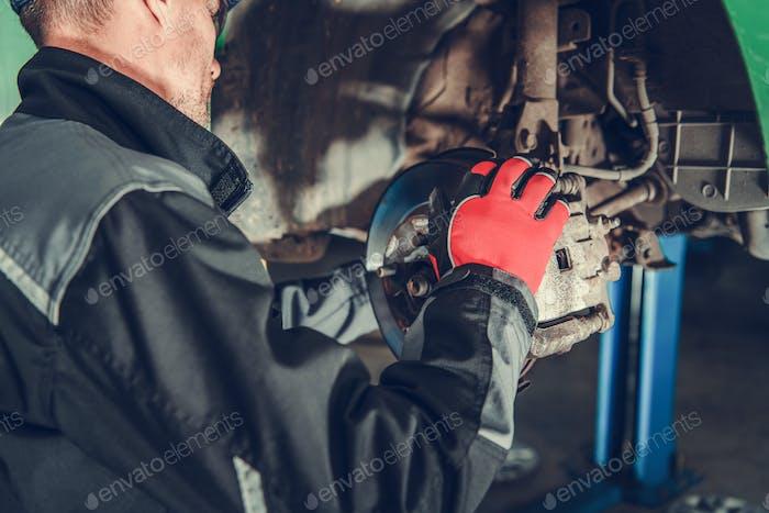 Car Brakes Maintenance