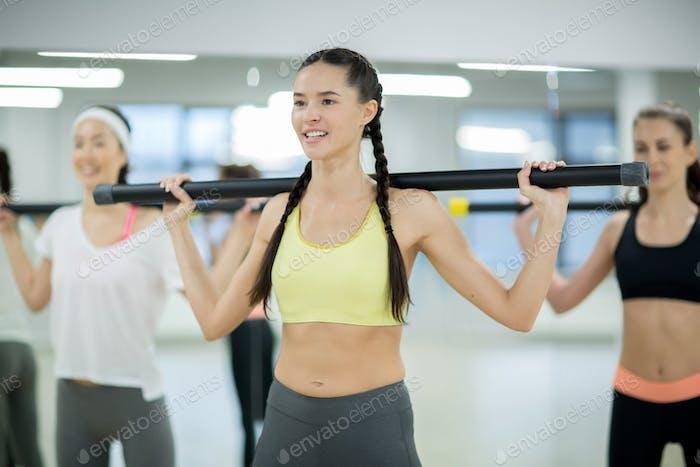 Фитнес с барами