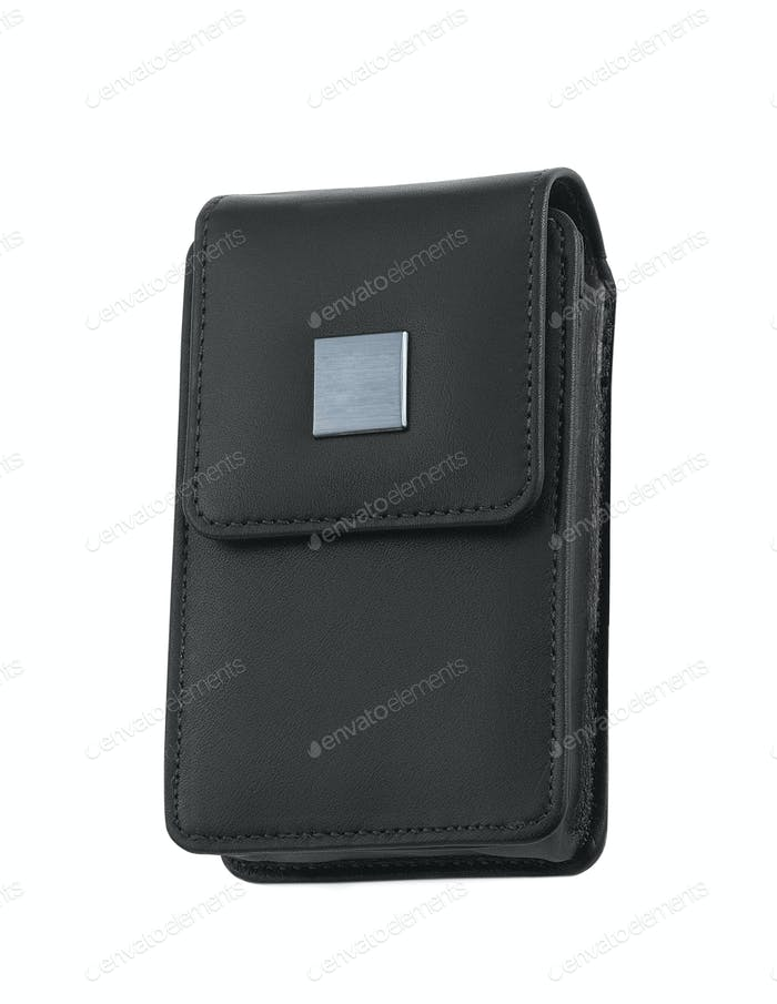 black bag for photocamera
